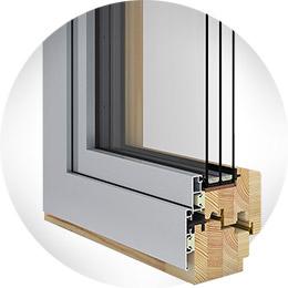 Wood Aluminum Gemi Windows And Doors